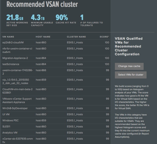 VSAN Assessment Results2